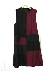 絣タックジャンパースカート