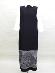 兵児帯衿付きジャンパースカート